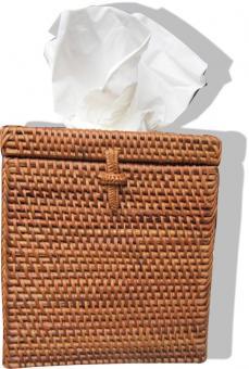 Kleenexbox in Hochformat