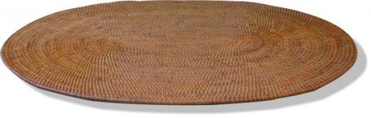 Tischläufer oval mit formschönem Abschlussrand 60 cm x 25 cm